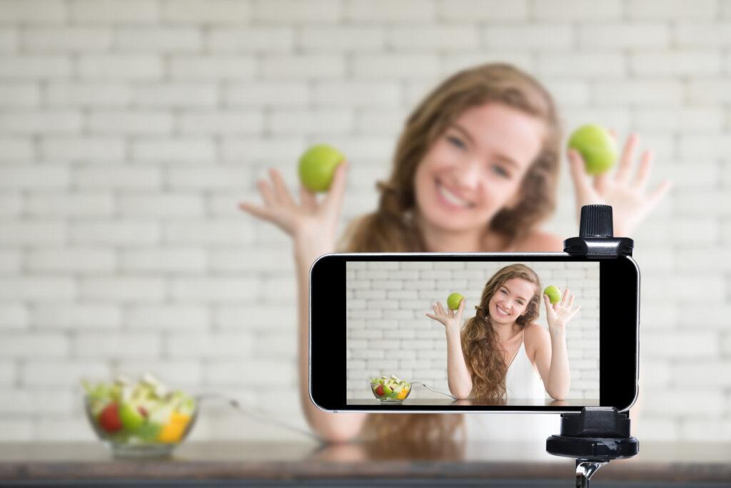 como gravar videos para o instagram