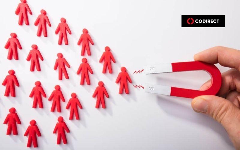 atração de clientes após estratégia colocada em ação